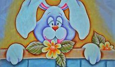 Pintando um Coelho No Tecido!