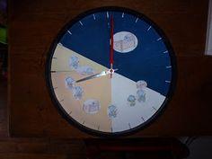 Chantecler... Apprendre dans la joie: Horloge synopte 24h : fabrication