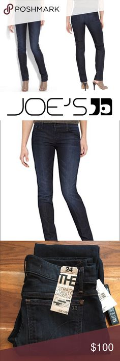 ✨ NWT Joe's Jeans The Cigarette in Anabella ✨ Retailed for $198. NWT Never Worn   Straight across the hips slender through the leg for the cultured and hip mademoiselle you've discovered the perfect super slim, pencil leg that bestows sexy, svelte. Go ahead make them envious.   98% cotton  Designed in L.A.  straight narrow  slender slim  Joe's Jeans Authentic  Product Information  Department	womens  Item model number	RTZV5244 ANABELLA  Best Sellers Rank	2402496 Joe's Jeans Jeans Skinny