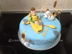 Coolest Gone Fishing Cake...