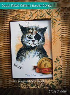 This time it's for the second helping and the final two of The Adorable Louis Wain Kittens.