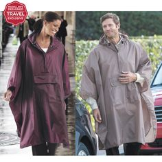 Magellan's Unisex Waterproof Poncho - Your Trusted Source for Travel Solutions And Gear