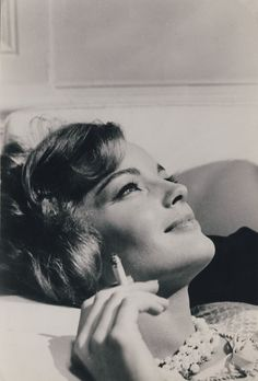 Romy Schneider, best known in France although she was German I believe.