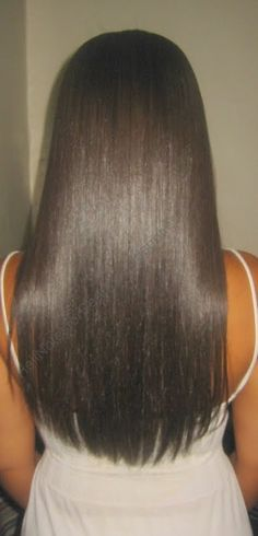 Black hair CAN grow long and beautiful! <3