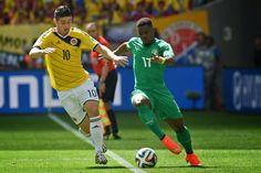 [Highlights WC 2014] Colombia 2 - 1 Bờ Biển Ngà - 19/06