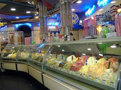 The first time I ever had gelato was in Venice ... I will only have Gelato in Italy .... Just heavenly ...