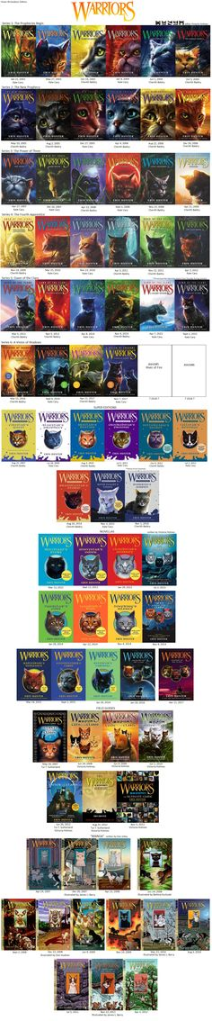 All the warrior cat books this is amazing Warrior Cat Memes, Warrior Cats Fan Art, Warrior Cats Series, Warrior Cats Books, Warrior Girl, Love Warriors, Super Cat, Cat Boarding, Cat Drawing
