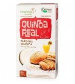 Farinha de Quinoa Real Branca Orgânica A quinoa contém também fibras que estimulam o funcionamento do intestino, g.minerais, como magnésio, potássio e manganês além da vitamina D, vitamina E,vitaminas do complexo B e ácidos graxos ômega 3.  https://comprarprodutosnaturais.wordpress.com/2015/10/27/farinha-de-quinoa-real-branca-organica/