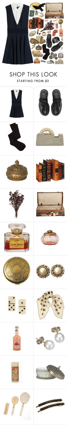 """""""84. an old house in Paris covered in vines"""" by tenminutesagoo ❤ liked on Polyvore featuring The Kooples, Charlotte Russe, Areaware, Buccellati, Anthropologie, Datura, Chanel, Charlotte Olympia, Yves Saint Laurent and London Road"""