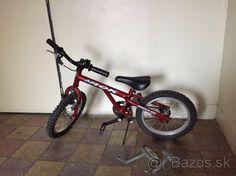 Detsky bicykel 14'' / bordovy - 1
