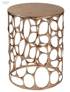 Year in Review: 70 Must-See Furnishings | Homage to Gaudí side table in bronze by Nick Alan King. #design #interiordesign #interiordesignmagazine
