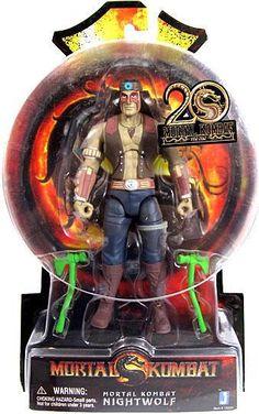 Mortal Kombat 20th Anniversary Nightwolf 6 Action Figure Jazwares - ToyWiz
