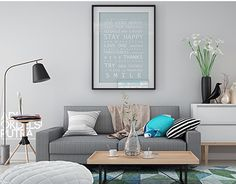 """Check out new work on my @Behance portfolio: """"Scandinavian Style Living Room"""" http://be.net/gallery/31439881/Scandinavian-Style-Living-Room"""