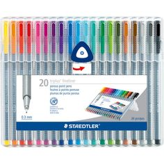 Staedtler Triplus Fineliner Pens Markers by PNWCrafts on Etsy