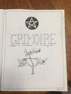 Vintage, Magick, Health — The first pages of my new grimoire. I'm hoping to. Wiccan Witch, Wicca Witchcraft, Grimoire Book, Eclectic Witch, Baby Witch, Season Of The Witch, Modern Witch, Witch Aesthetic, Coven