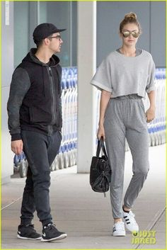 Gigi Hadid out with Joe Jonas