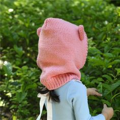 A6 Girls Winter Hats, Bonnet Hat, Rabbit Ears, Knitting Wool, Aliexpress, Gifts For Kids, Knitted Hats, Stockings, Children