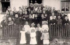Die Hochzeit meiner Großeltern Karl und Aloysia Schüler geb. de Beisac im November 1919