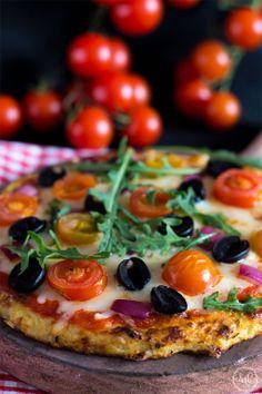 Sueños de amor y canela: Pizza light