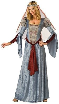 Maid Marian Renaissance Dress Outfit Halloween Costume