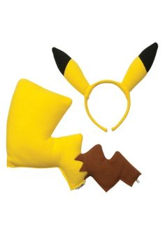 Are you looking to be Ash's prized Pokemon? This Pokemon Pikachu Kit can help you out with that!