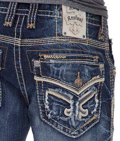 Rock Revival Forrest Boot Jean - Men's Jeans | Buckle