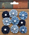 Little Birdie Crafts - Denim Collection - Rosettes