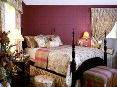 english country garden bedroom