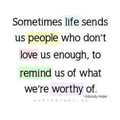 But we hold our heads up, lesson learned, and move on to a better, more well-deserved future.