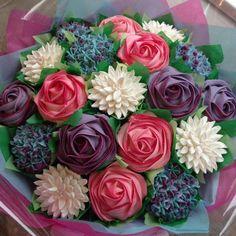 How to MYO Cupcake Bouquet- so easy!