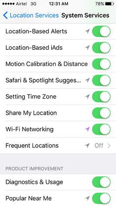 Location Services
