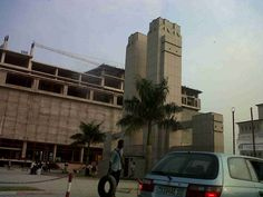 la gare centrale dans la ville de Kinshasa(DR.Congo)