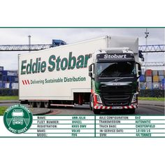 Welcome to this weeks Here we have Ann Julia - - OWV Eddie Stobart Trucks, Volvo Trucks, Tuesday, Transportation, Mickey Mouse, Cars, Instagram Posts, Travel, Viajes