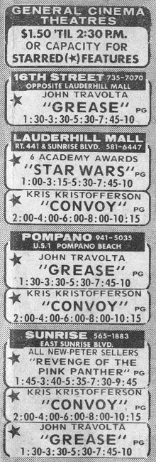 """Remember looking at the """"movie page"""" in the newspaper for show times?  I love the titles that were showing at that time and THE PRICES!!!!"""