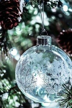 embellished ornaments