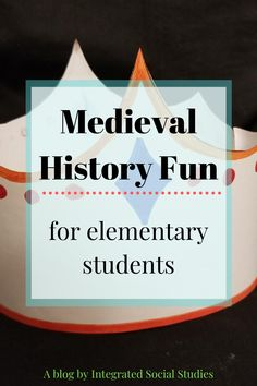 Add a bit of whimsy to any medieval history lesson with your elementary students by giving them the creative freedom to decorate their own crowns. Check out my blog about adding these to your lesson before heading over to my TpT store to purchase. #tptblog Middle School, High School, Digital History, Teaching Methods, Teacher Blogs, European History, Crowns, Social Studies, Elementary Schools