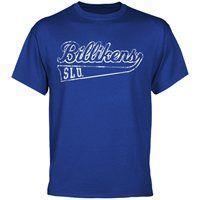 Saint Louis Billikens Swept Away T-Shirt - Royal Blue