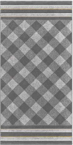 Trendige Handtuch Serie »Vichy« der Marke Egeria. Leuchtende Farben und ein toller Mustermix machen diese Handtücher und Badetücher zu einem richtigen Hingucker. Sie können die Handtücher und Badetücher im Trockner trocknen und sie immer direkt an dem Kordelaufhänger aufhängen, um jedem Ihre Errungenschaft zu zeigen. Der Stoff aus 100% Baumwolle fühlt sich kuschelig an und eignet sich somit wun...