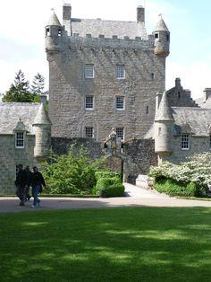 Château de Cawdor situé sur la commune de Cawdor, Highland,Écosse.