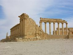 Temple of Bel, Palmyra, Syria | 1st cent CE