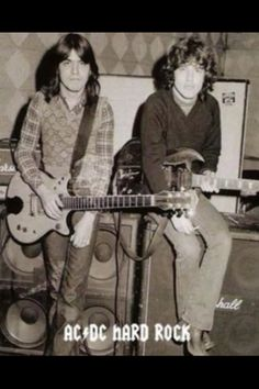 Angus and Malcom young