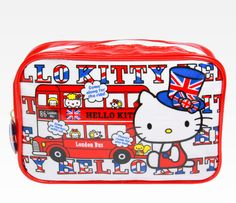 Hello Kitty Makeup bag: in her hometown London!