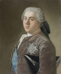 Jean-Étienne Liotard (1702-1789) — Portrait of Louis, Dauphin of France, 1949:The Rijksmuseum (National Museum), Amsterdam. Netherlands   (851×1024)