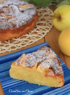 TORTA DI MELE STREPITOSA  http://blog.giallozafferano.it/cucinadichicca/torta-di-mele-strepitosa/