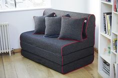 Ollie - Small but mighty and room for two. This striking double sofa bed is ideal for when you have guests over to stay.