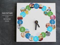 Instatime, a creative DIY Instagram clock
