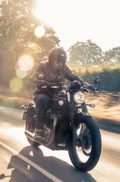Promo shot of the new Bonneville Bobber