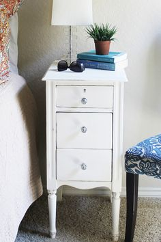 Gloriously Made | Restored Bedside Tables | http://www.gloriouslymade.com