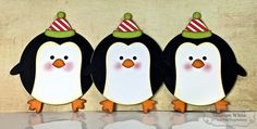 Roly-Poly Penguin Tag/Ornaments by Shannon White #Tags, #Ornaments, #TEMatched, #Christmas, #RolyPoly, #TE, #ShareJoy