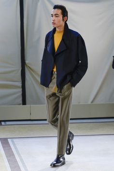Lemaire Fall 2017 Menswear collection